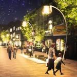 Pic: Proposal drawings of more 'pedestrian friendly' Narrow Way. Credit: Hackney Council
