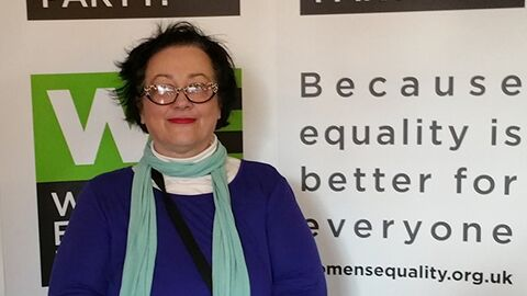 Gill Manly has highlighted gentrification as the focus of the newly launched Croydon Women's Equality Party Pic: WEP