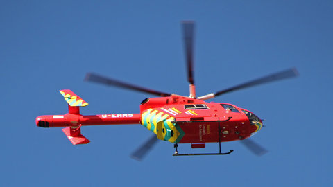 London's Air Ambulance Pic: Tony Hisgett