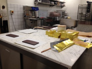 Mast Chocolate Shop Kitchen. Pic: Claudia Decarli.