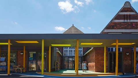 Pic: Robert Fitzroy Academy. Architect: Architype. Credit: Dennis Gilbert/ VIEW