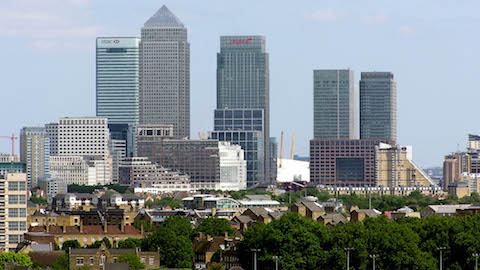 Tower Hamlets house prices have soared by almost £100,000 in the last year Pic: Arpingstone