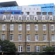Pic: The Royal London Hospital. Credit: Robin Sones