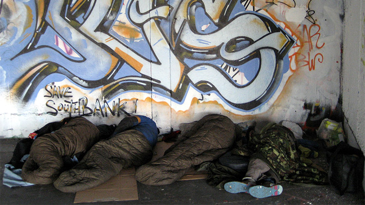 FEATURED homeless