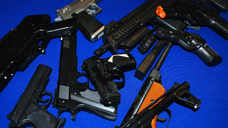 The Met look to take guns off the street. Pic: Met Police