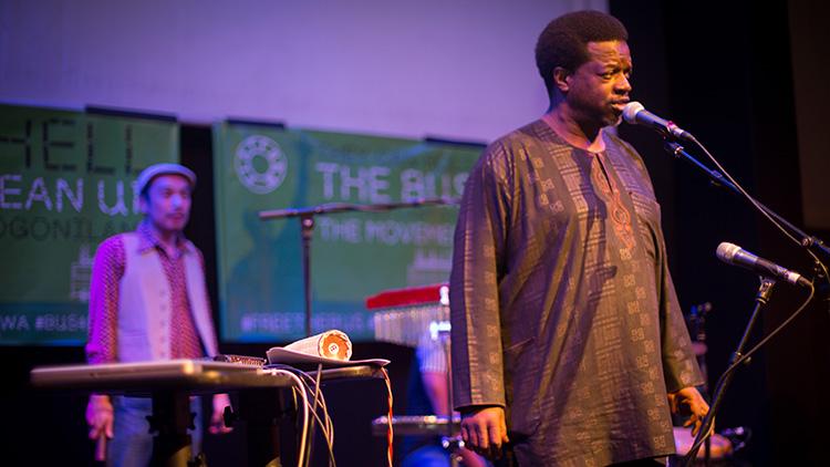 Performers at Rich Mix, Shoreditch Pic Kingsley Uzondu