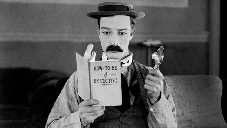 Buster Keaton stars in Sherlock Jr. Pic: The David Lean Cinema Campaign