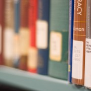 Library books Pic: CCAC North library