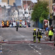 London Riots Pic: George Rex