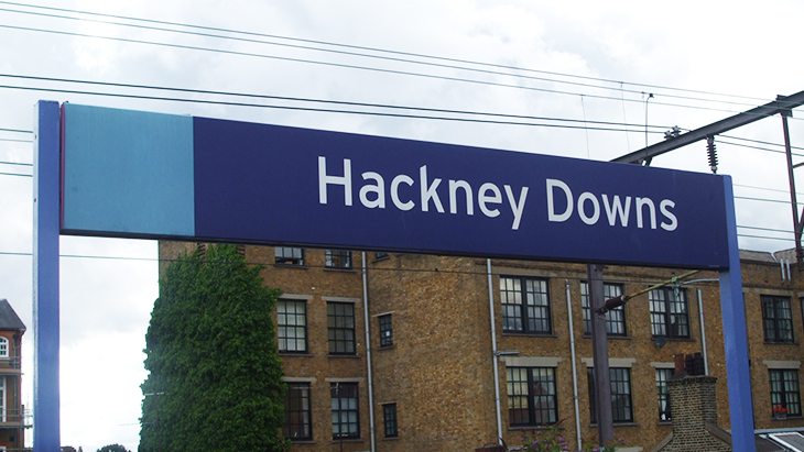 Passenger brawl take place on Hackney Downs Overground. Pic: Wikimedia Commons