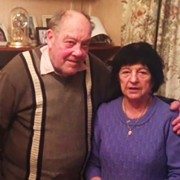 Holocaust survivors Alfie and Miriam Buechler. Pic: Tara Dein