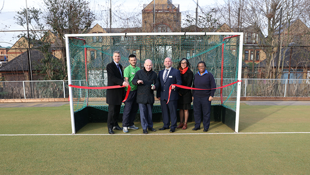 Brand new Astroturf pitch unveiled