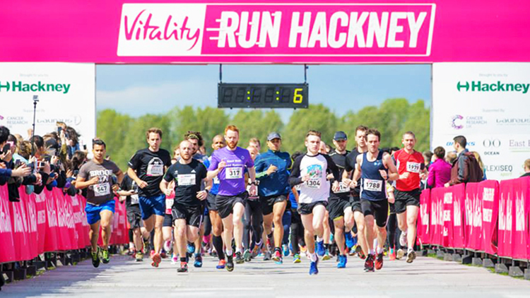 Picture from Run Hackney 2015. Pic: Run Hackney