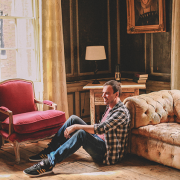Rupert Hunt in his living room. Pic: SpareRoom