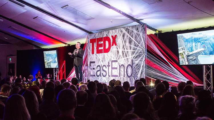 TEDxEastEnd Event. Pic: TEDxEastEnd