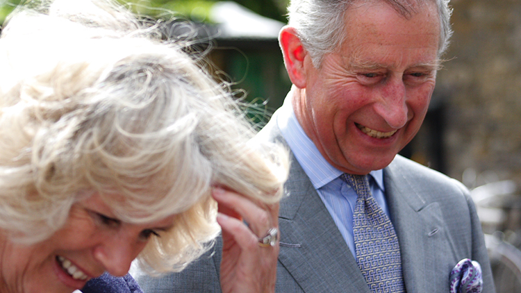 We are amused – the royal couple enjoy Wilton's tour. Pic: Andy Gott/Flickr