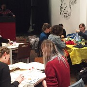 'Go Green' craft night in Hackney Pic: Junxin Bi