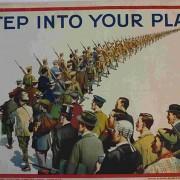 1st World War propaganda poster. Pic: Hackney Council