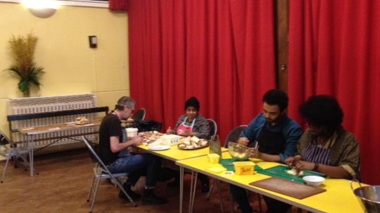 Volunteers. Pic: Jordan-Louise Langshaw