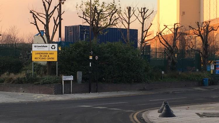 Lewisham Recycling Centre. Pic: Simisola Jasmine Jolaoso