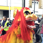 Chinese New Year  festivities are roaring success in Croydon. Pic: Hsin-Jui Lin