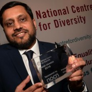 Mohammed Ramzan, Principal at John Ruskin College in Croydon. Pic: MKI Photo