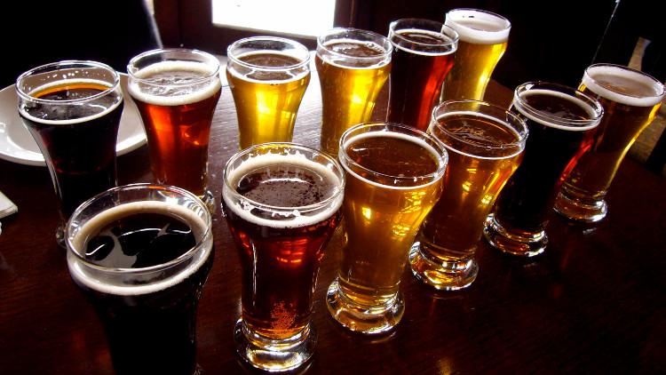 Relax and sample beers at Craft Beer Rising! Pic: Paul Joseph