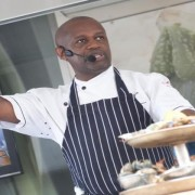 John was racially abused in his Croydon restaurant. Pic: South West News Service