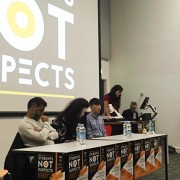 Students Not Suspects event held at Goldsmiths on Monday night. Pic: Junxin Bi