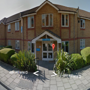 The Manley Court Nursing Centre in New Cross where Cedric Skyers was burned to death. Pic: Google Street View