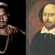 Shakespeare and Kanye: wordsmiths 400 years apart.