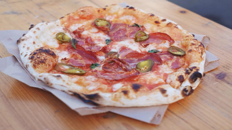EC netil market - pizzas dont cry - credit to simon kimber @simoneats on twitter