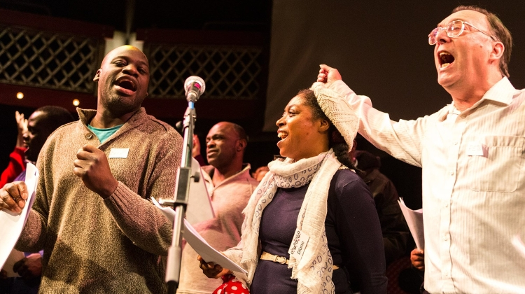 The Heart n Soul choir is for those with learning difficulties. Pic: Tim Mitchell
