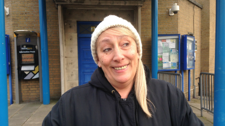 Patricia Best is a Woodberry Down resident struggling to pay her utilities bills. Pic: Douglas Pyper