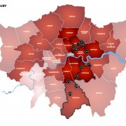 Knife crime injuries across London. Pic: Marianna Manson