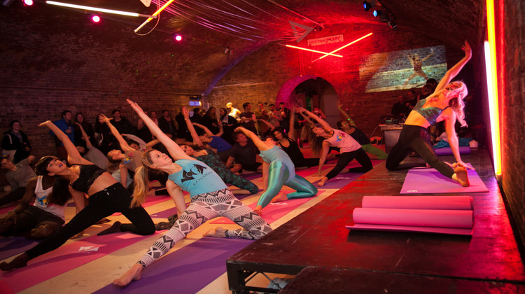 Voga class at Hoxton Gallery PIC: House of Voga