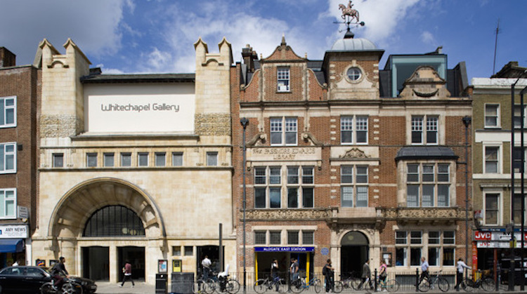 Whitechapel Art Gallery. Pic: Wikipedia Commons