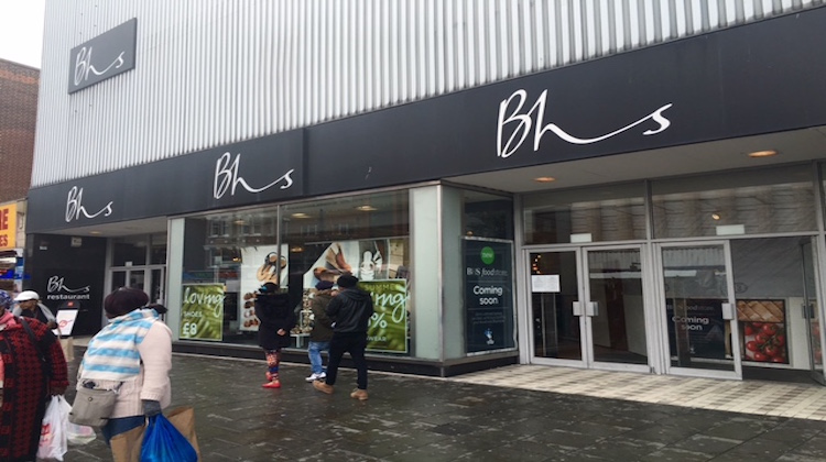 jobs fears in croydon and lewisham as bhs goes into. Black Bedroom Furniture Sets. Home Design Ideas