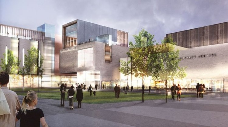 Designs for the redeveloped Fairfield Halls. Pic: Rick Mather Architects