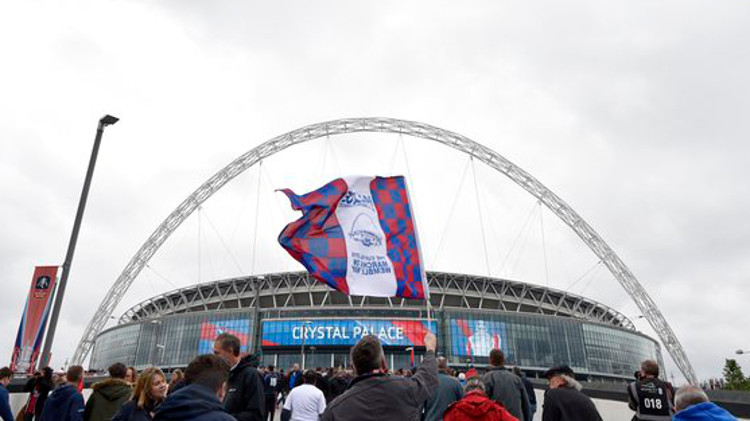 Wembley Stadium. Pic: @cpfc