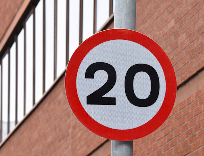 The 20mph borough-wide speed limit in Tower Hamlets is under review Pic: Albert Bridge