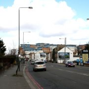 Purley, where the incident took place. Pic: Geographs