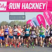 Runners starting the Vitality Run Hackney. Pic:
