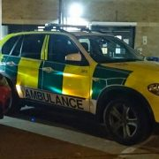 Quick response team to the fire arms call. Pic: @LAS_JRU