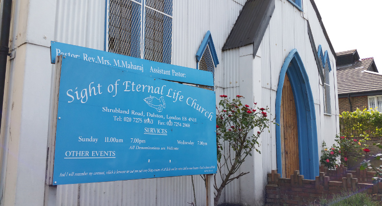 The Sight of Eternal Life Church Pic: Joanna Turner