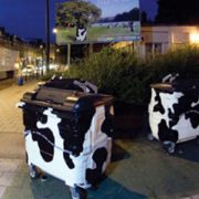Cowbins on New Cross Road. (Photo credit: Lewisham Council)