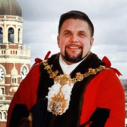 Wayne Trakas-Lawlor, Croydon's new mayor.
