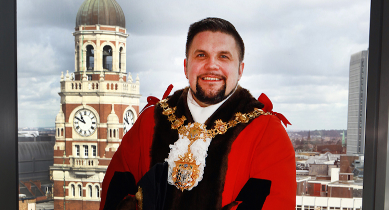 Wayne Trakas-Lawlor, Croydon's new mayor.