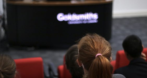 Goldsmiths welcomed a panel of journalists to discuss the profession and their own experiences with young students. Pic: Emily Benington