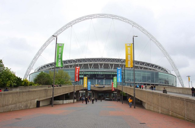 Wembley Stadium, where the final will be played. Pic: Steve Daniels
